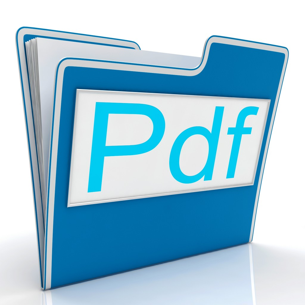 Pdf File Shows Documents Format Or Files