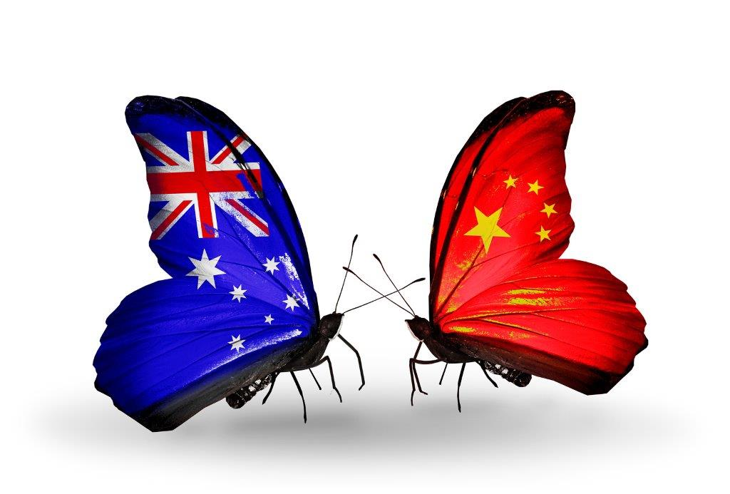 how to call china from australia