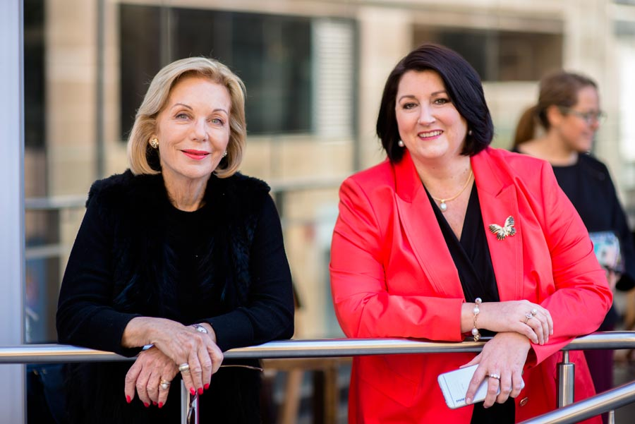 Ita Buttrose AO OBE - Chair of Director Institute Advisory Board and Kylie Hammond of the Director Institute are advising potential board members about how to seek board positions.