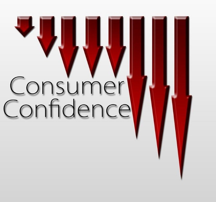 Consumer confidence continues to slip