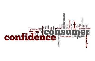 Consumer confidence dips but remains high
