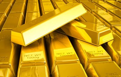 Geopolitical risks push gold to five month high