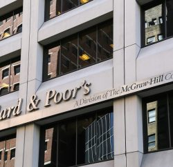 S&P lowers ratings for financial institutions